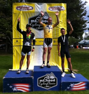 Cycling Coach Nate English Claim 2011 Hood Overall Title