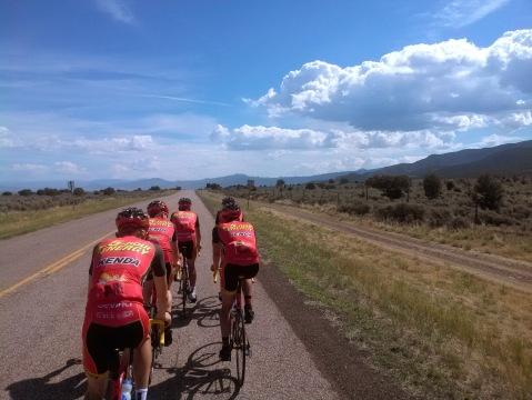 Utah team ride